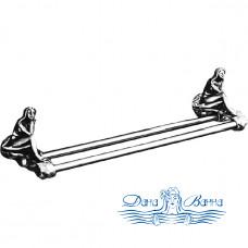 Держатель для полотенец Art&Max Juno AM-0718 серебро