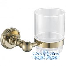 Стакан для зубных щеток Aquanet 4684 золото