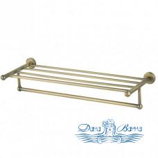 Полка для полотенец Aquanet 4662 золото