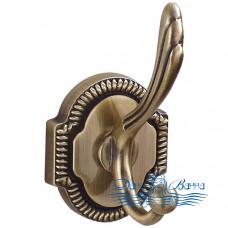 Двойной крючок Bronze de Luxe Royal S25205 бронза