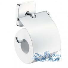 Держатель туалетной бумаги Hansgrohe PuraVida 41508000 с крышкой