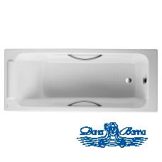 Чугунная ванна Jacob Delafon Parallel 170x70 E2948 с ручками