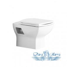 Унитаз подвесной Jaquar Lyric LYS-WHT-38951 с крышкой-сиденьем Soft Close