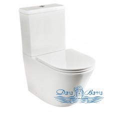 Унитаз Ceramica Nova Trend 110010 с сиденьем SoftClose