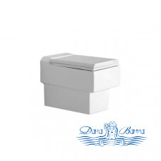Унитаз подвесной Jaquar Fonte FNS-WHT-40951 с крышкой-сиденьем Soft Close