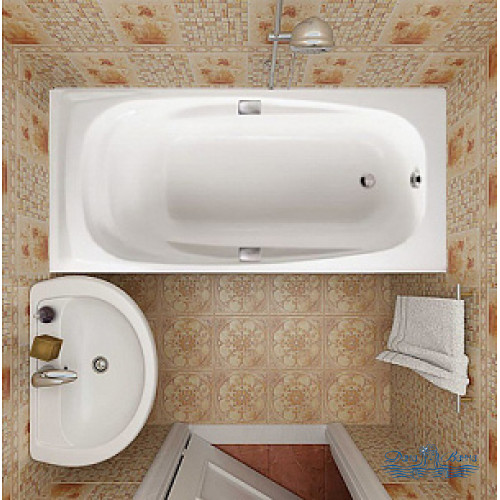 Чугунная ванна Jacob Delafon Repos 170x80 E2915 с ручками