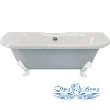 Ванна из литьевого мрамора ESSE Capri 170x75 ножки белые