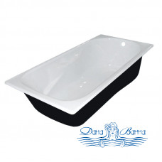 Чугунная ванна Универсал Сибирячка 150x75