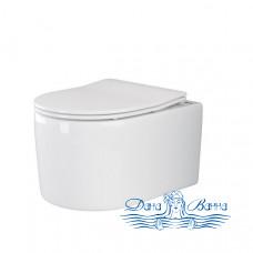 Унитаз подвесной Ceramica Nova Moments Rimless CN3003 с сиденьем SoftClose