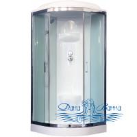 Душевая кабина Royal Bath RB 100HK6-WT-CH 100х100 (белое/прозрачное)