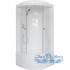 Душевая кабина Royal Bath RB 90BK1-T 90х90 (прозрачное)