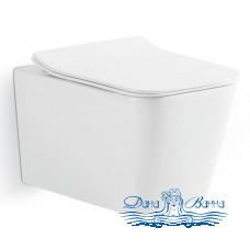 Унитаз подвесной CeramaLux NS5170 с сиденьем Soft Close