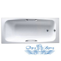 Чугунная ванна Jacob Delafon Melanie 160x70 E2935 с ручками