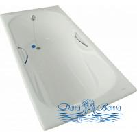 Чугунная ванна GOLDMAN Donni 180х80 с ручками