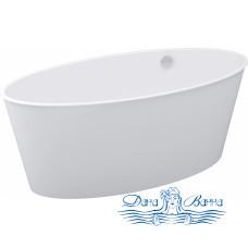 Ванна из литьевого мрамора Цвет и Стиль МариVanna 160x73 белая
