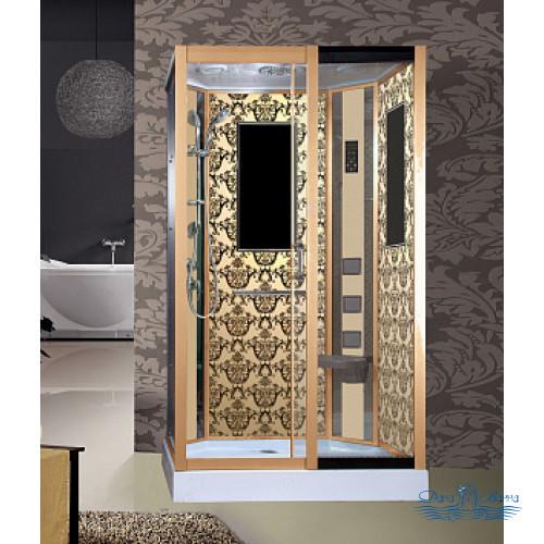Душевая кабина Niagara Lux 7711GR золото 120х90