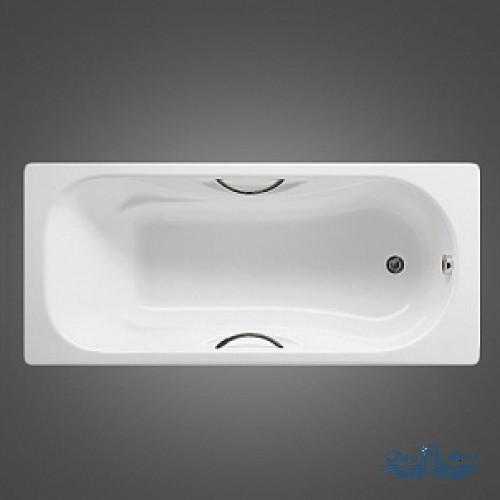 Чугунная ванна Roca Malibu 23157000R 150х75 с ручками