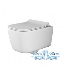 Унитаз подвесной  Ceramica Nova New Day Rimless CN3005 с сиденьем SoftClose
