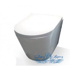 Унитаз подвесной CeramaLux NS 5178 с сиденьем Soft Close