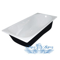 Чугунная ванна Универсал Сибирячка 180x80