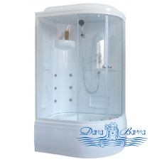 Душевая кабина Royal Bath RB 8120BK2-T L 120х80 (прозрачное)