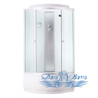 Душевая кабина Aquapulse 4101D fabric white 80х80