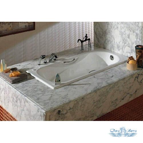 Чугунная ванна Roca Malibu 23107000R 160x75 с ручками