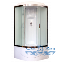 Душевая кабина Royal Bath RB 100BK6-WC-CH 100х100 (белое/матовое)