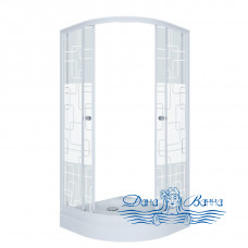 Душевой уголок Triton Стандарт А 90х90 стекло квадраты