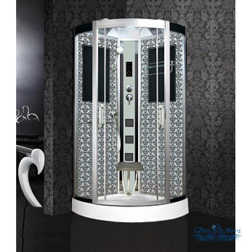 Душевая кабина Niagara Lux 7715W хром, металлик 90х90