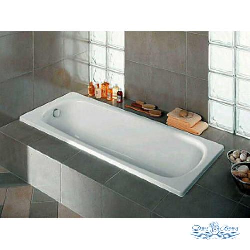 Чугунная ванна Roca Continental 21290300R 150x70 см без антискользящего покрытия