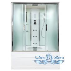 Душевой бокс Deto EM 4515 150x85 с электрикой и гидромассажем