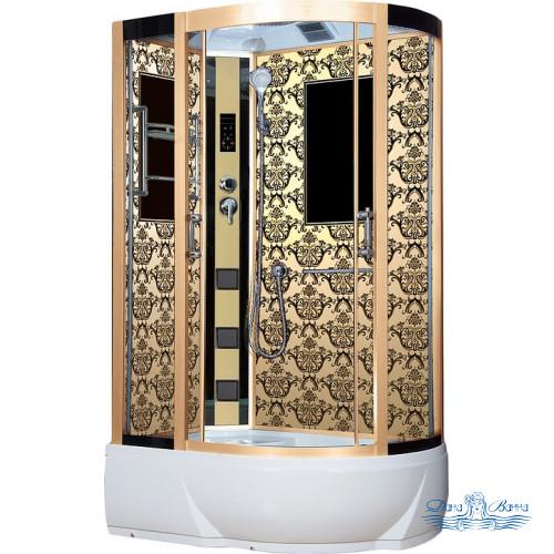 Душевая кабина Niagara Lux 7712GL золото 120х80