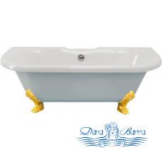 Ванна из литьевого мрамора ESSE Capri 170x75 ножки золото