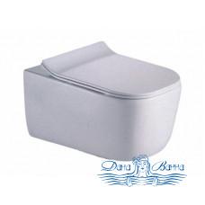 Унитаз подвесной CeramaLux B2341 с сиденьем Soft Close