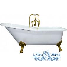 Чугунная ванна Elegansa Schale Gold 170х75