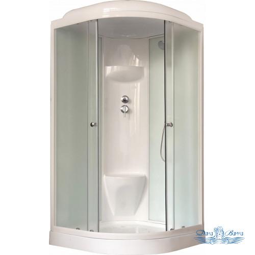 Душевая кабина Royal Bath RB 100HK6-WC 100х100 (белое/матовое)