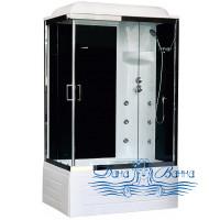 Душевая кабина Royal Bath RB 8100BP3-BT-CH R 100х80 (черное/прозрачное)