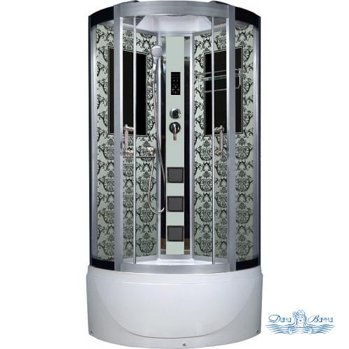 Душевая кабина Niagara Lux 7790W хром, металлик 90х90