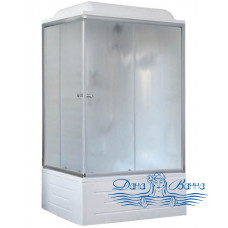 Душевая кабина Royal Bath RB 8100BP1-M R 100х80 (матовое)