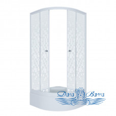 Душевой уголок Triton Стандарт В 90х90 стекло мозаика
