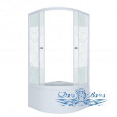 Душевой уголок Triton Стандарт Б 90х90 стекло узоры