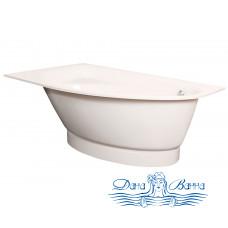 Ванна из литьевого мрамора PAA Tre Grande 170x100 L/R