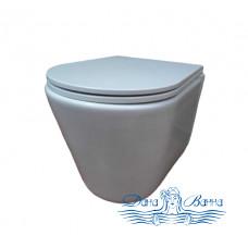 Унитаз подвесной Bolu Vigo BL-34E1003 с сиденьем Soft Close