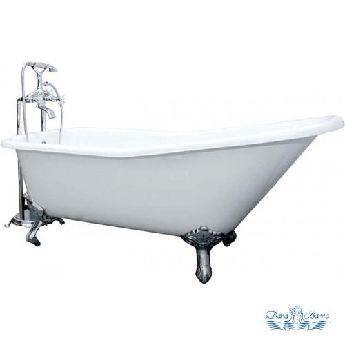 Чугунная ванна Elegansa Schale Chrome 170х75