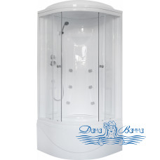 Душевая кабина Royal Bath RB 90BK2-T 90х90 (прозрачное)