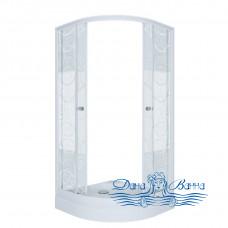 Душевой уголок Triton Стандарт А 90х90 стекло узоры