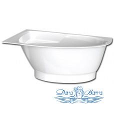 Ванна из литьевого мрамора PAA Tre 150x100 L/R