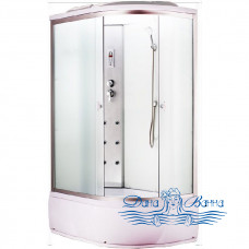 Душевая кабина Aquapulse 3106B L fabric white 120х80