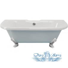 Ванна из литьевого мрамора ESSE Capri 170x75 ножки хром